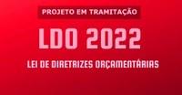 Projeto de Lei da LDO 2022 já está em tramitação na Câmara de Quirinópolis..